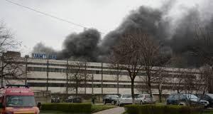 Fabrica UAMT Oradea incendiu